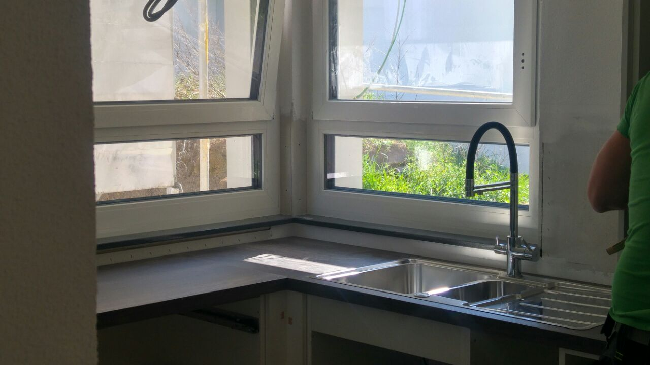 Küche und 3-Wege Wasserhahn, was!? – Unser Holzhaus